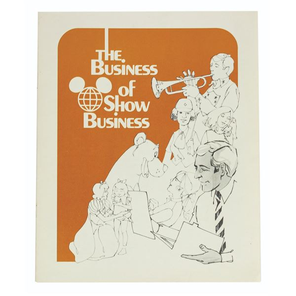 The Business of Show Business Booklet.