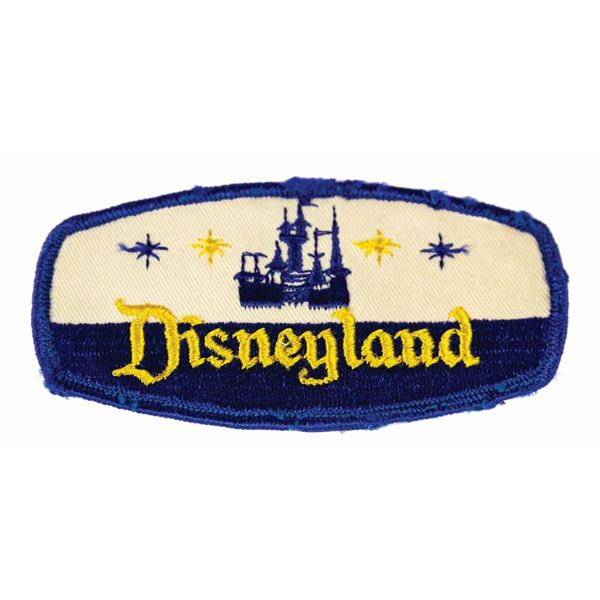 Disneyland Cast Member Embroidered Patch.