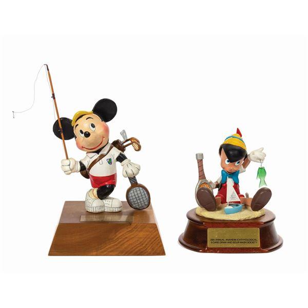 Pair of Disneyland Secret Society Member Gifts.