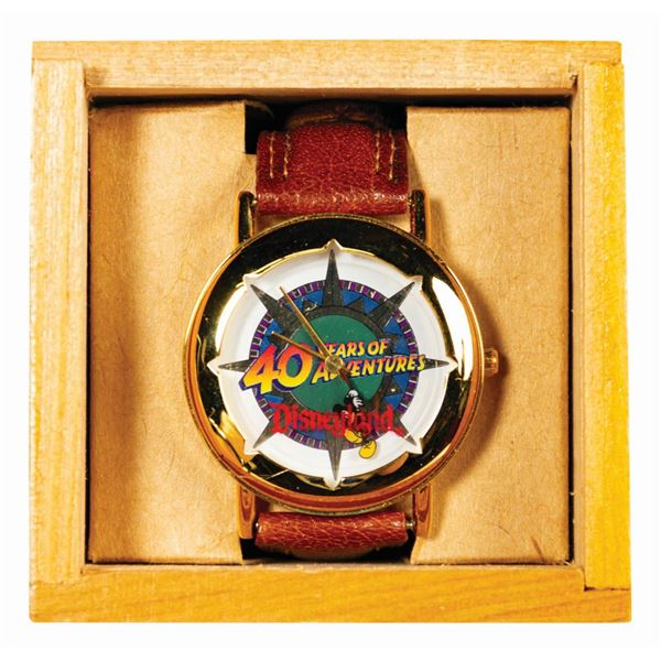 Disneyland 40 Years of Adventure Cast Member Watch.