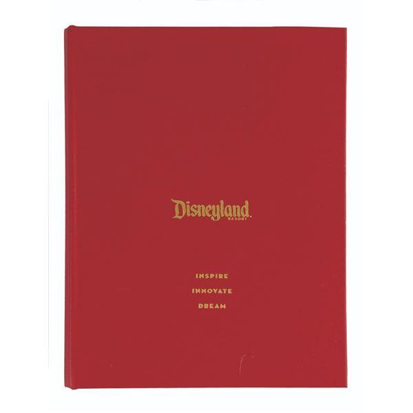 Disneyland Cast Member Notepad Portfolio.