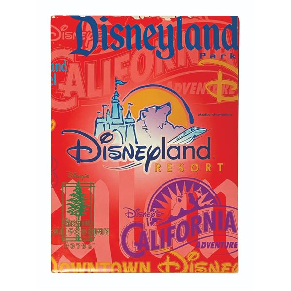 Disneyland Resort Press Folder.