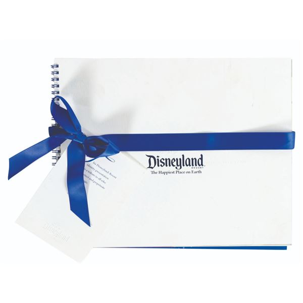 The Disneyland Graphic Style Guide Book.