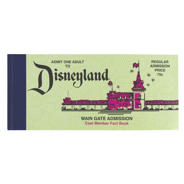 Disneyland 50th Anniversary Cast Member Fact Book.