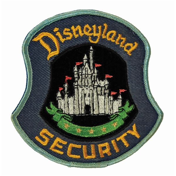Disneyland Security Embroidered Patch.