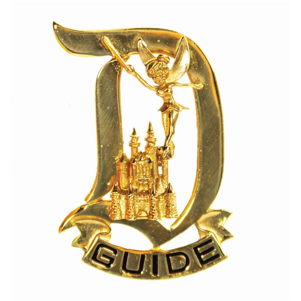 Disneyland Tour Guide Pin.