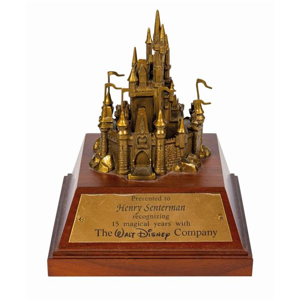 Walt Disney World Cast Member Cinderella Castle Award.