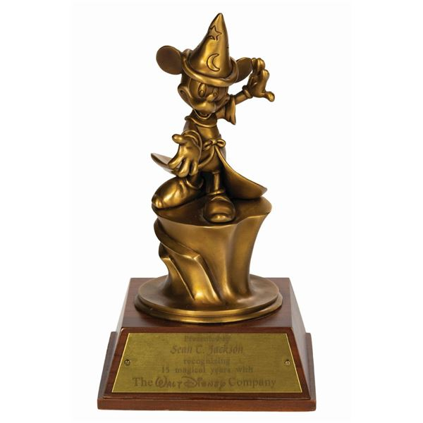 Sorcerer Mickey Bronze 15-Year Service Award.