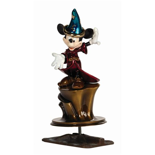 Sorcerer Mickey 15-Year Service Award Foundry Sample.