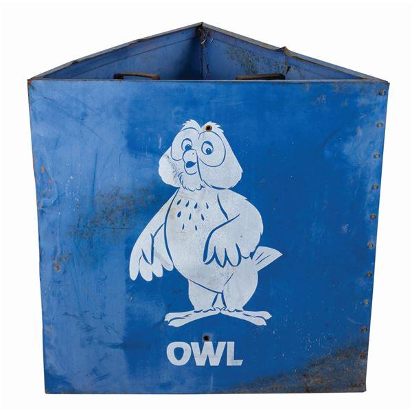 Owl Disneyland Parking Lot Sign.