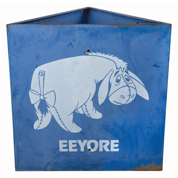 Eeyore Disneyland Parking Lot Sign.