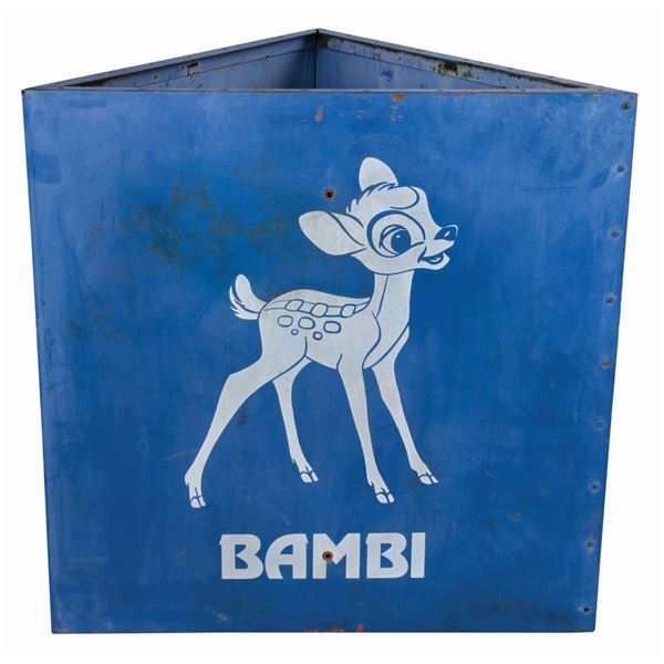 Bambi Disneyland Parking Lot Sign.