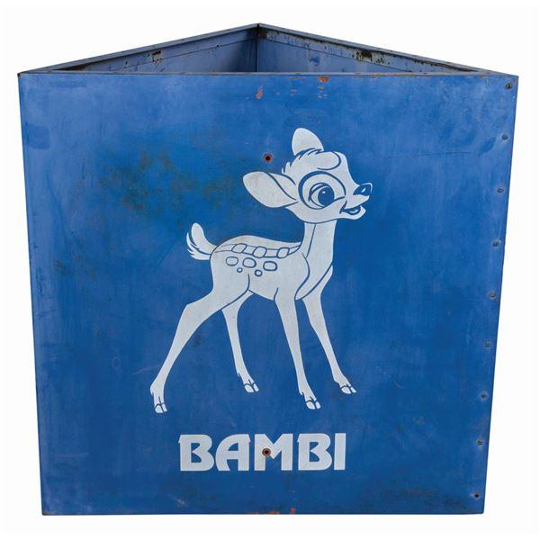 Bambi Disneyland Parking Lot Sign.