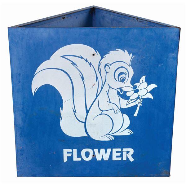 Flower Disneyland Parking Lot Sign.