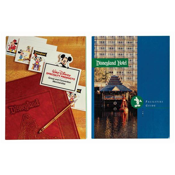 Disneyland Hotel Facilities Guide & Merch Catalogue.
