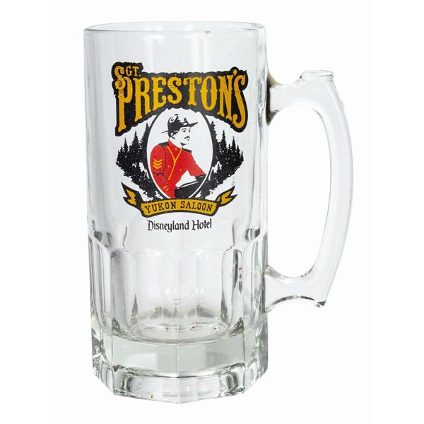 Sgt. Preston's Yukon Saloon Beer Mug.