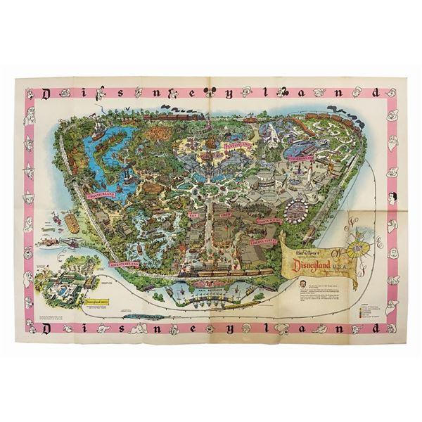 1961 Disneyland Souvenir Map.