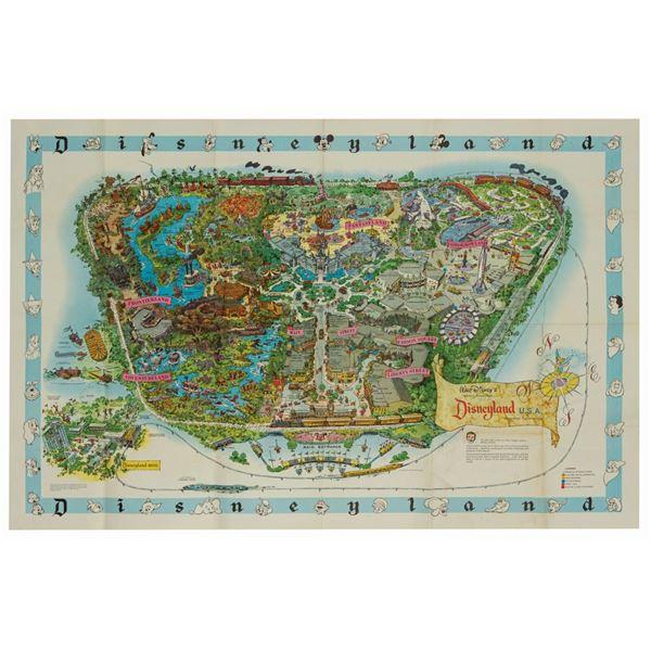 Milt Albright's 1962 Disneyland Souvenir Map.