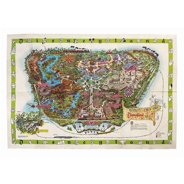 1964-B Disneyland Souvenir Map.