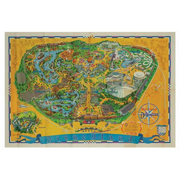 Milt Albright's 1968 Disneyland Souvenir Map.
