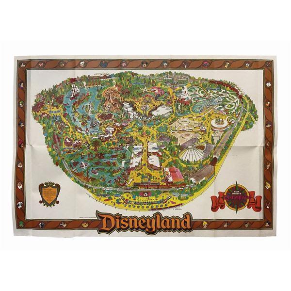 1984 Disneyland Souvenir Map.