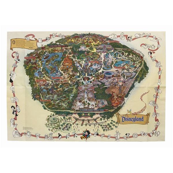 2001 Disneyland Souvenir Map.