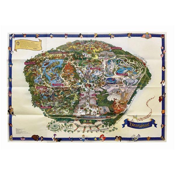 2008 Disneyland Souvenir Map.