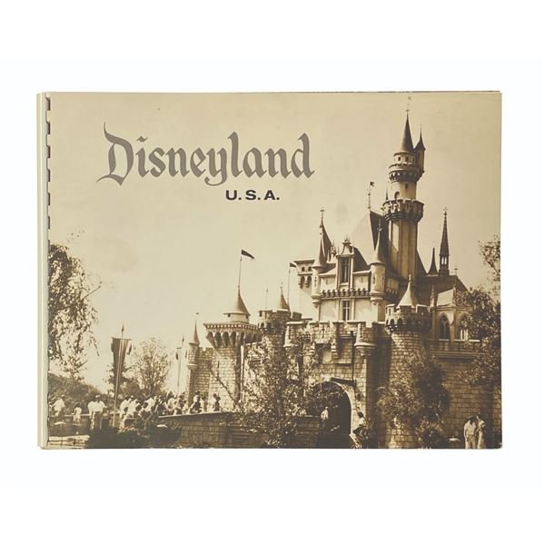 "1958 ""Disneyland U.S.A."" Booklet."