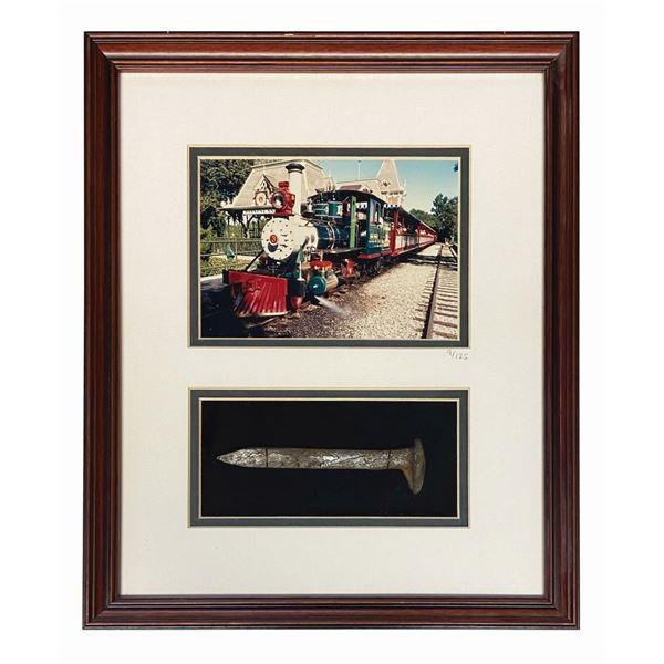 Disneyland Railroad Engine No. 3 Railroad Spike.