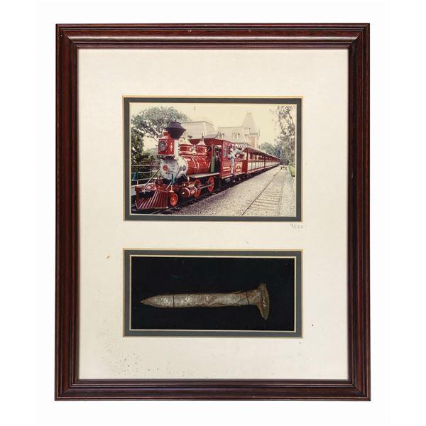 Disneyland Railroad Engine No. 4 Railroad Spike.