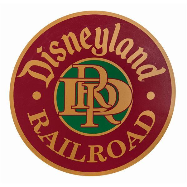 Disneyland Railroad Replica Tin Sign.