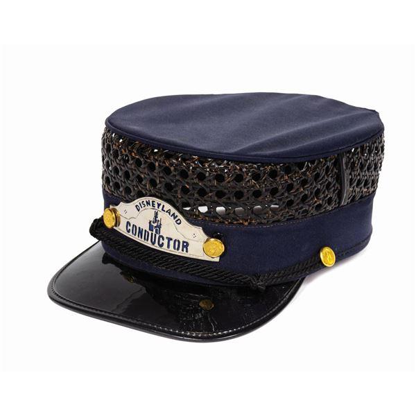 Disneyland Railroad Conductor Hat.