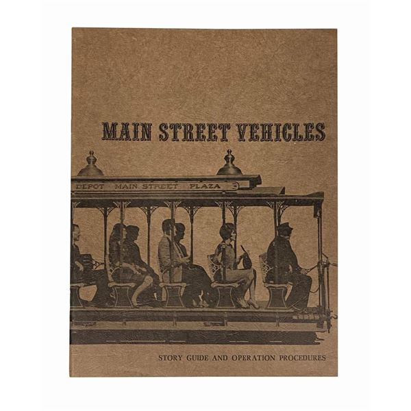 """Main Street Vehicles"" Operations Guidebook."