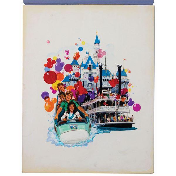 Original Disneyland Special Event Painting.