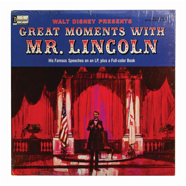 Great Moments with Mr. Lincoln Sealed Record.