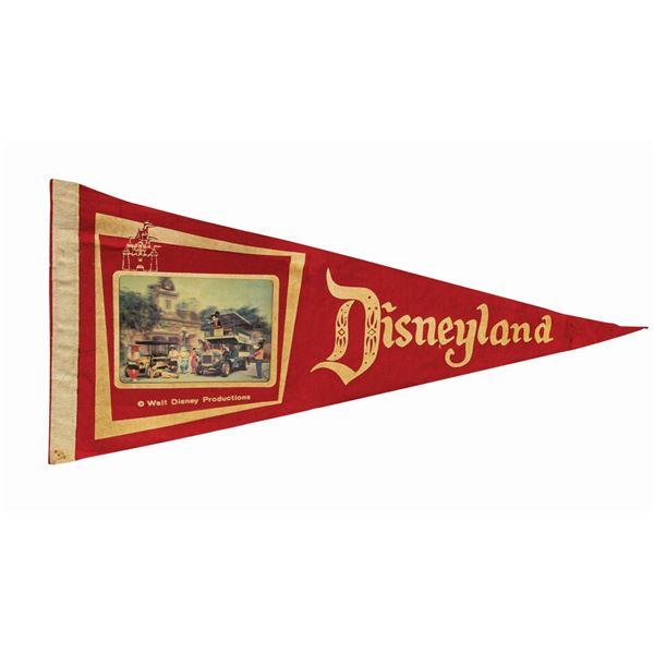Disneyland Lenticular Pennant.
