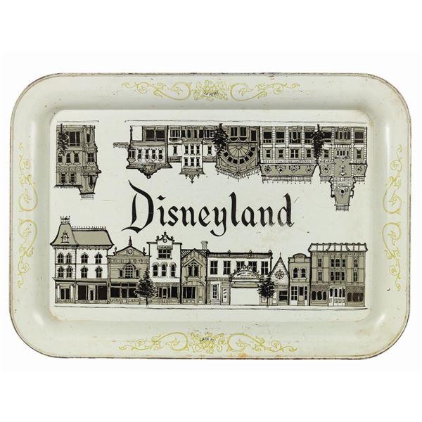 Disneyland Main Street Tray.