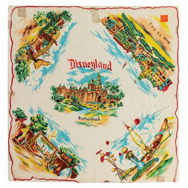 Disneyland Silk Lands Scarf.