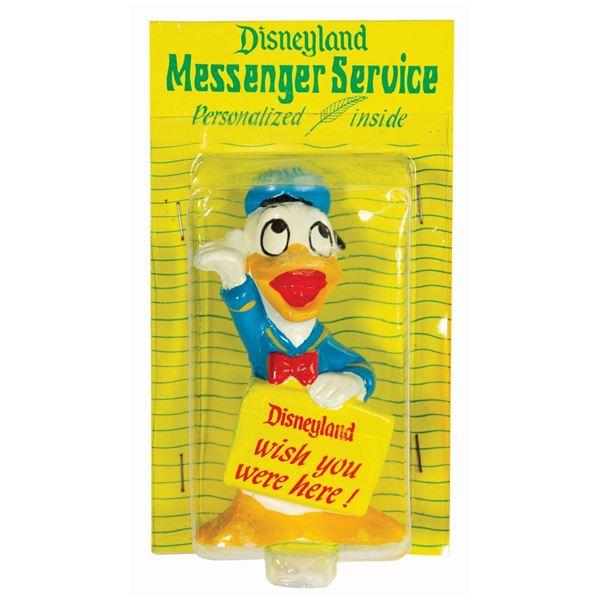 Donald Duck Messenger Service Figure.