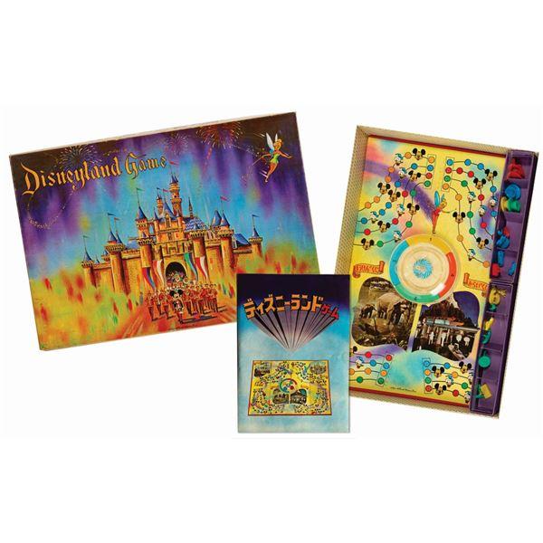 Disneyland Japanese Board Game by Nintendo.