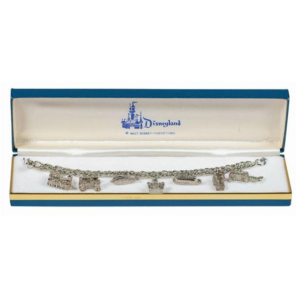 Disneyland Attractions (7) Charm Bracelet.