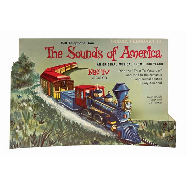 The Sounds of America TV Special Standee.