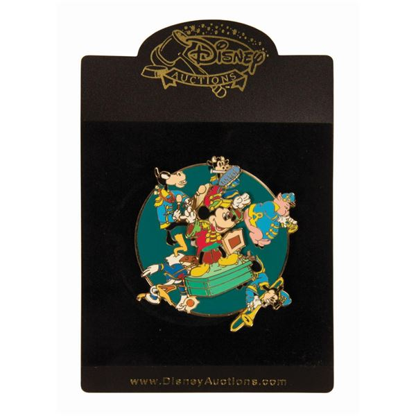 The Band Concert Limited Edition Jumbo Spinner Pin.