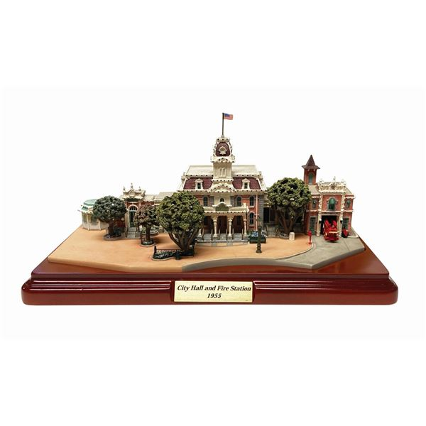 City Hall and Fire Station Model by Olszewski.