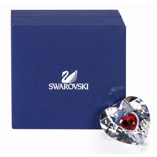 Swarovski Crystal Heart Pendant.