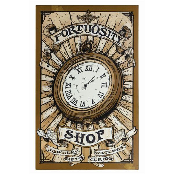 Fortuousity Shop Park Sign.