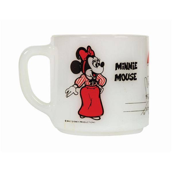 Mickey and Minnie Mouse Carnation Plaza Gardens Mug.