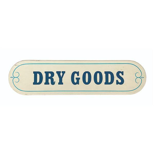 Disneyland Dry Goods Park Sign.