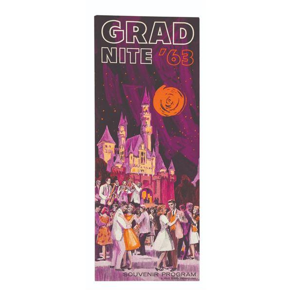 Milt Albright's Grad Nite '63 Souvenir Program.