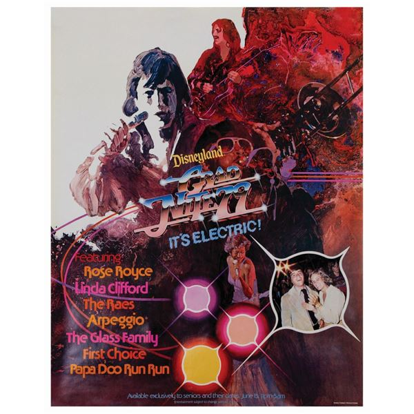 Grad Nite 1977 Poster.